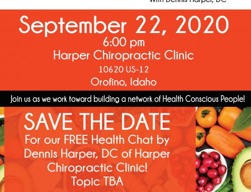 Free Health/Diet Talk with Dennis Harper, DC