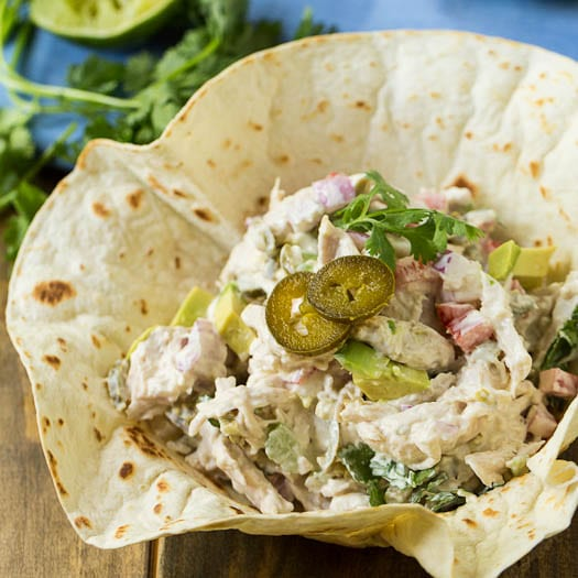 Cool Creamy Chicken Salad