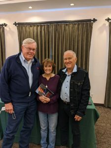 Will Godfrey, Julie Chenowith and Dennis Book signing25835